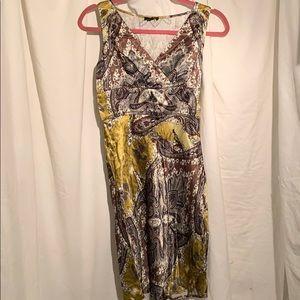 3/40 Jacob satin paisley dress medium